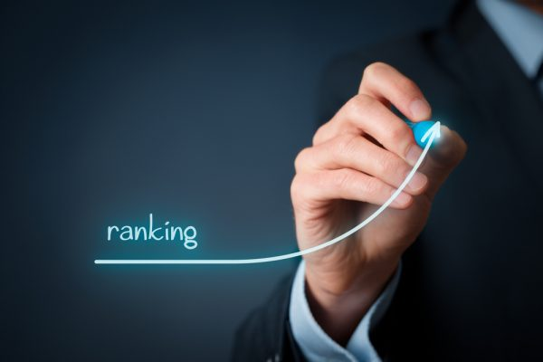 Increase,Ranking,Concept.,Businessman,Draw,Plan,To,Increase,Ranking,Of